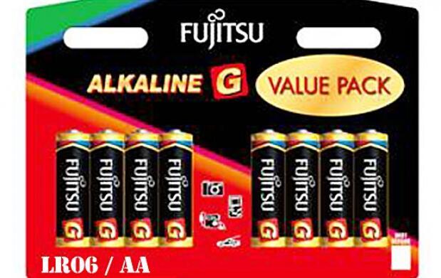 80 pilas alcalinas Fujitsu a domicilio