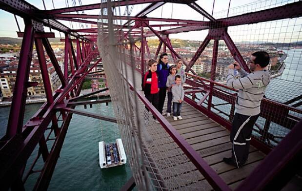 Visita el Puente Bizkaia con audioguía