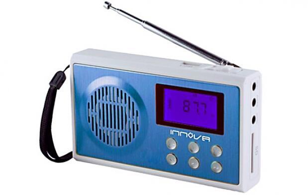Radio con entrada de tarjeta SD Y USB