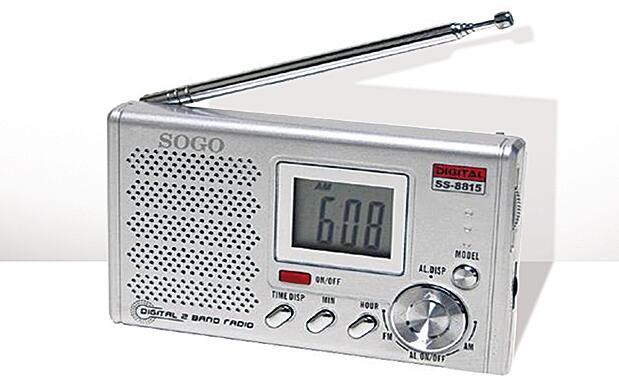 Radio de bolsillo AM/FM digital