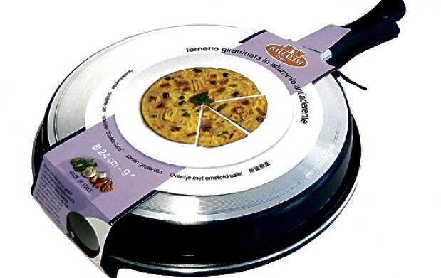 Sartén gira-tortilla
