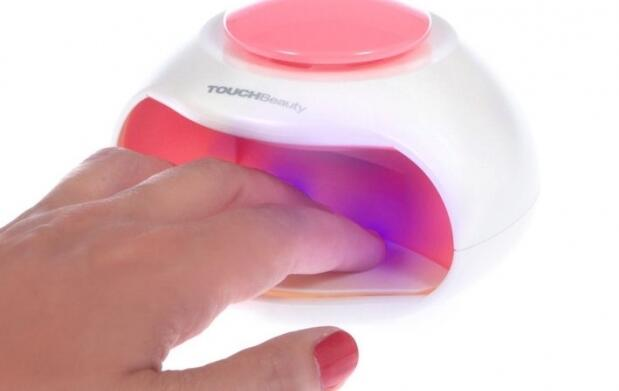 Secador de uñas portátil con luz UV