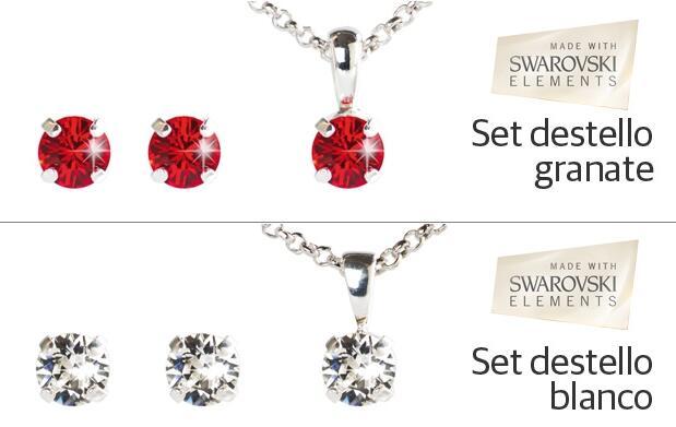 Set Destellos Made With Swarovski® elements