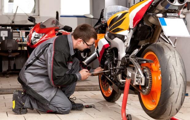 Revisión completa de moto
