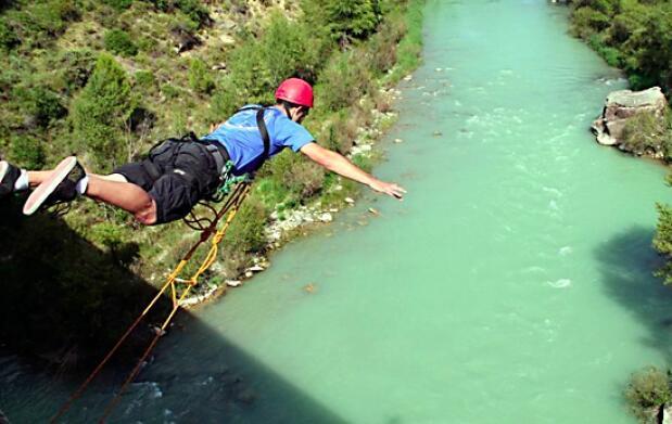 Puenting: 1 ó 2 saltos desde 25 metros