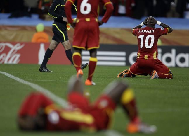 Uruguay, semifinalista en los penaltis