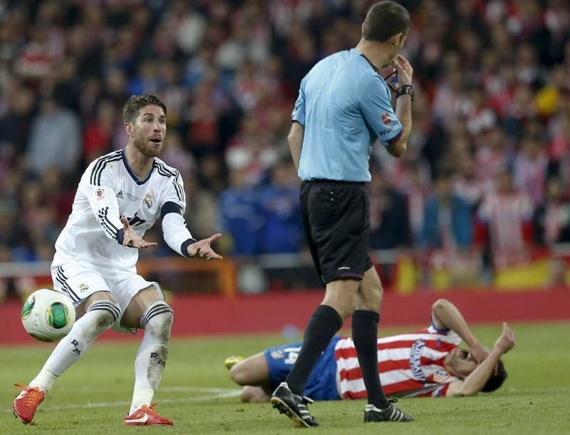 Imágenes de la final de la Copa del Rey entre Real Madrid y Atlético
