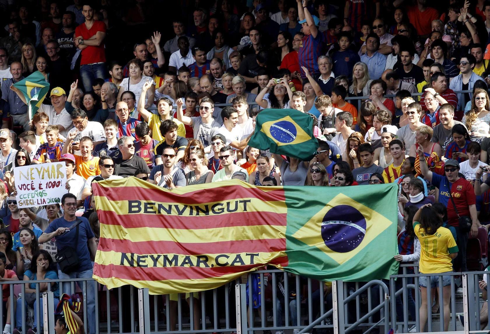 Neymar ya es del Barça