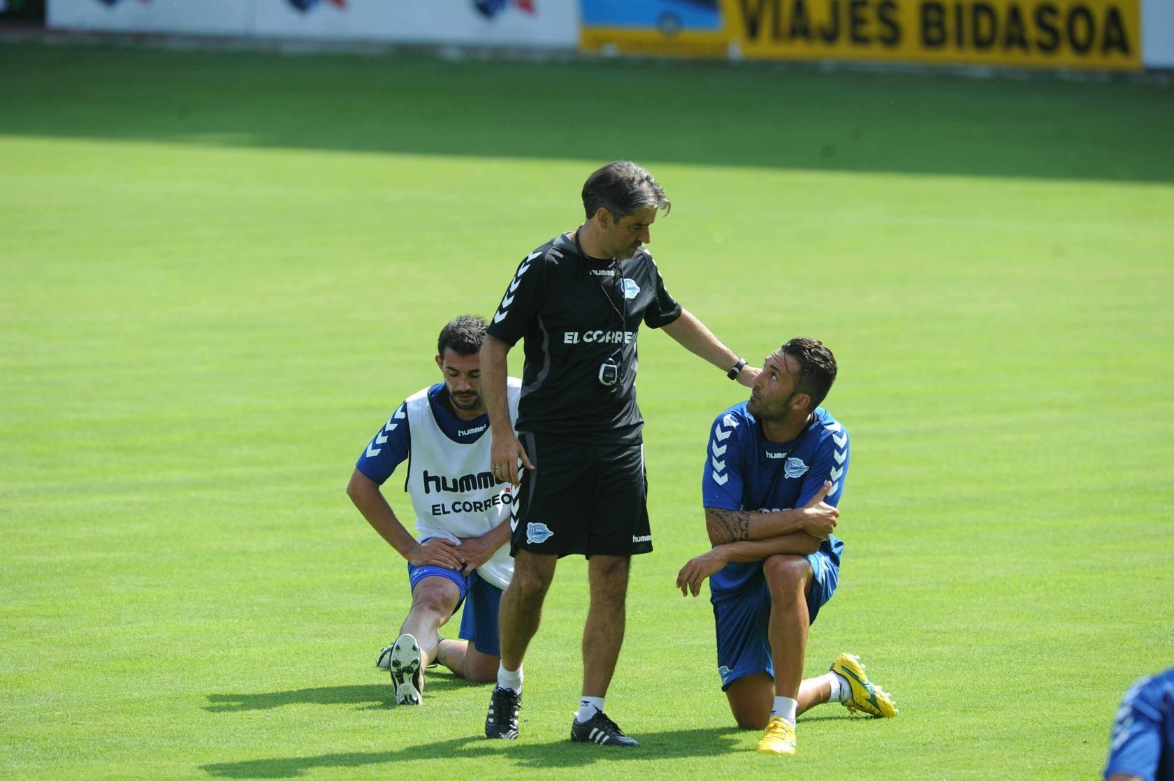 Primer entrenamiento del Deportivo Alavés