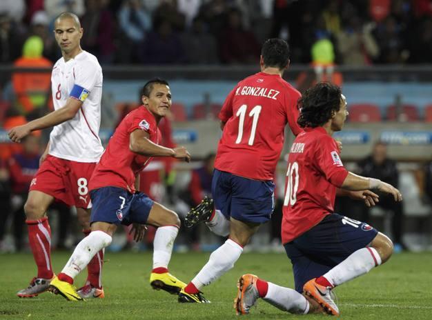 Chile puede con Suiza