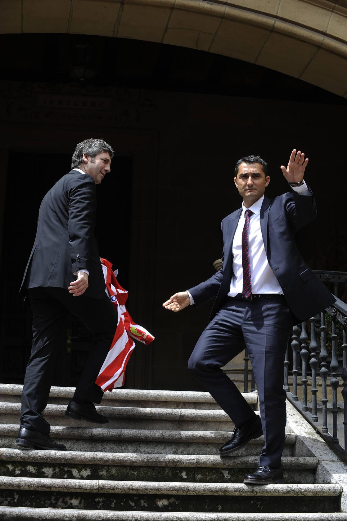 Valverde vuelve a ser entrenador del Athletic