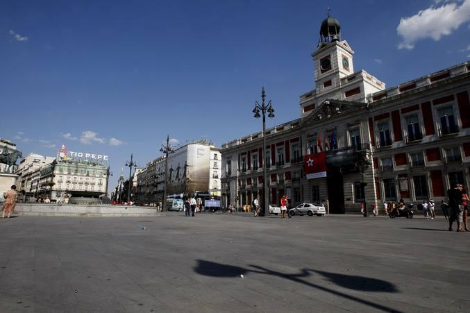 Madrid, desierta durante la final del Mundial