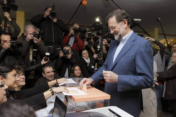Los políticos acuden a las urnas