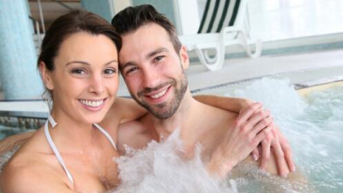 Circuito termal ilimitado mas masaje en ducha Vichy