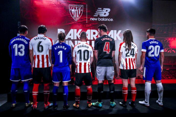 86f69df8c46ea Las nuevas camisetas de Athletic Club para la temporada 2017-2018