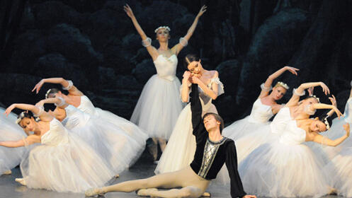 Giselle, el mejor ballet en el P. Euskalduna