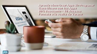 Curso online de creación de Apps sin programar en directo