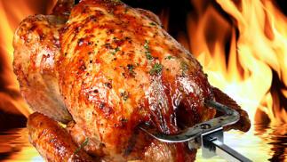 """Menú Especial """"Combo"""" Pollo Asado con ensalada, patatas y bebida en el Restaurante K Roka o en casa"""