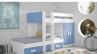 Dormitorio infantil Tren