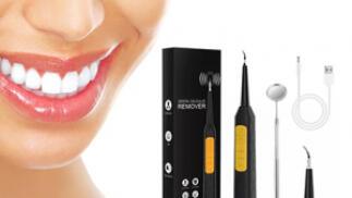 Limpiador dental ultrasónico con accesorios