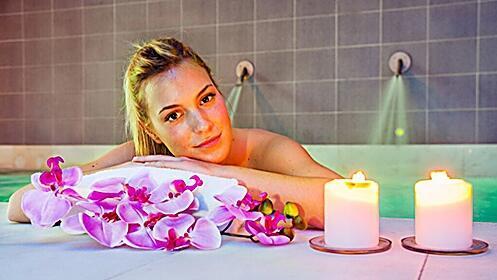 Relax a elegir con circuito termal y/o menú buffet y/o masaje