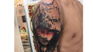 Regala o regálate un tatuaje de 5x5 cm o de 10x8 cm