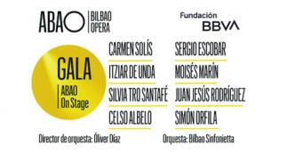 Gala ABAO on stage. Ópera y zarzuela en un espectáculo único en el Euskalduna.