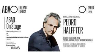 Recital de piano de  Pedro Halffter en la Sociedad Filarmónica