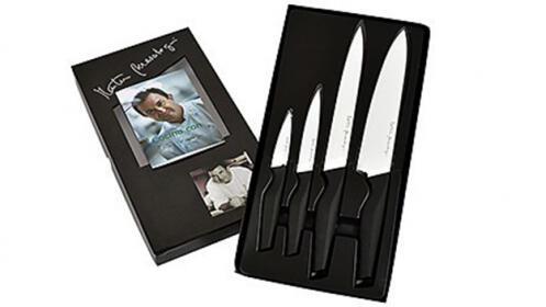 Juego de 4 cuchillos con recubrimiento cerámico