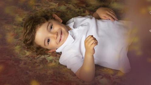 Sesión de fotos otoñal infantil con Aitziber Bonilla