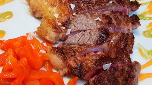 Exquisito menú degustación o menú txuleton en Bilbao