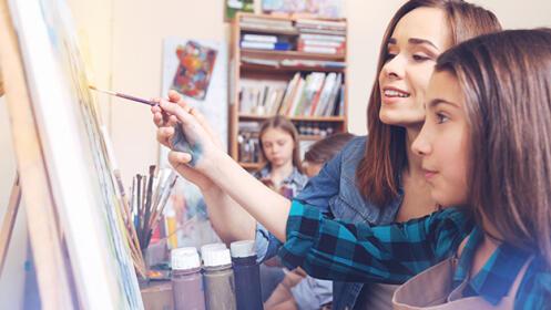 Curso de pintura y dibujo en Artebidea