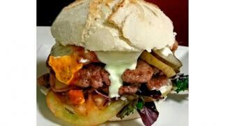 Menú hamburguesa en Bilbao