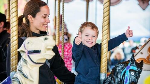 10 viajes en Carrusel Infantil