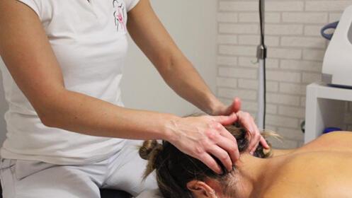 1 o 2 sesiones de fisioterapia con terapia manual  en Bilbao