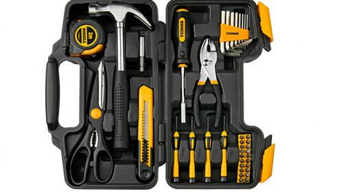 Maletín de herramientas de 39 piezas