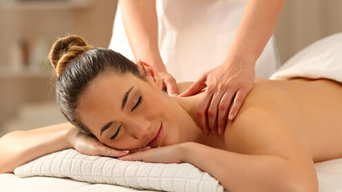 Elige entre masaje relajante, circulatorio o drenaje linfático