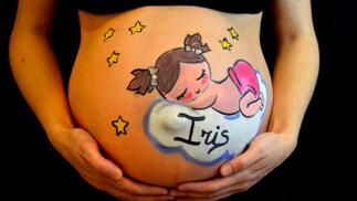 Belly Painting (Pintura corporal para embarazadas)