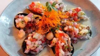 Menú degustación peruano en Bilbao