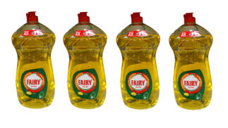 Pack de 4 botellas Fairy Ultra LEMON de 1410ml