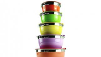 Juego de 5 boles de colores multifunción