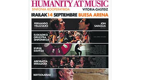 Entrada Humanity At Music, 14 de septiembre, en el Buesa Arena (Vitoria)