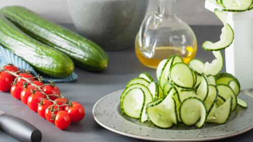 Cortador de verduras en espiral