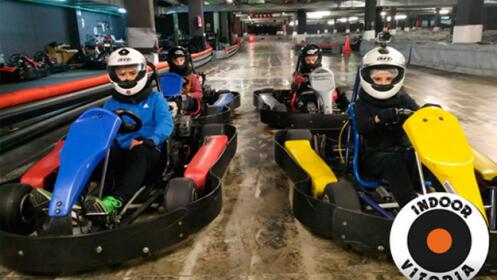 Karting indoor para niños/as