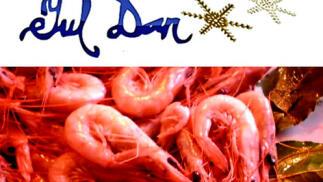 El mejor manjar: Gambas o langostinos cocidos frescos Juldan envío a domicilio ¡Unidades limitadas!