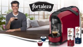 Cafetera Caffitaly gratis comprando 240 cápsulas de Café Fortaleza