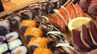 Menú sushi para dos en Restaurante Yami