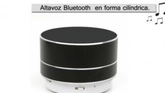 Altavoz negro Ital Al01 Bluetooth 3W