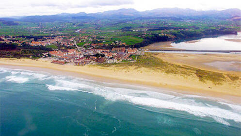 Etapa Reducida del camino de Santiago, por la costa desde Galizano hasta Santander