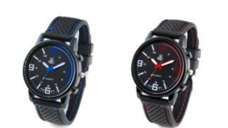 Reloj de pulsera WRAC Rally en dos colores con caja regalo